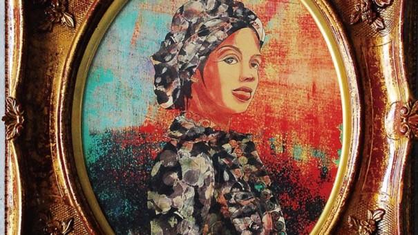 Woman アクリル画
