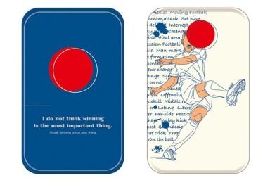 Soccer 携帯ソーラーパネル (サッカー)