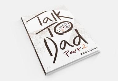 Talk to Dad 英語教材の挿絵