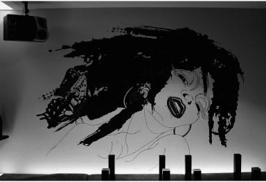 Gigolette 内装壁画 (飲食店)「ジゴレット」