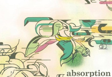 DJ NOZAWA  CDジャケット・デザイン 「absorption (DJ NOZAWA) 」